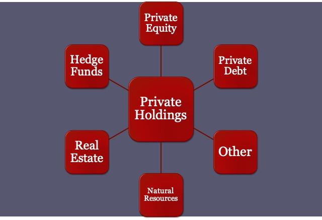 Harvard Endowment Private Holdings